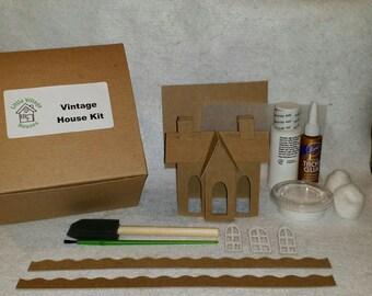 Putz Style Vintage House - DIY Complete Kit