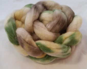 Lempo on Superwash Blue Faced Leicester (BFL)