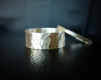 Wedding Ring Set, Wedding Bands, Silver Ring, Mens Wedding Rings, Anniversary Ring, Mens Rings, Unisex Band Ring, Silver Wedding Ring