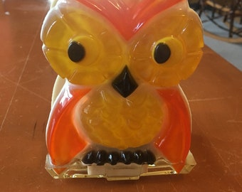 Vintage Owl Napkin or Letter holder