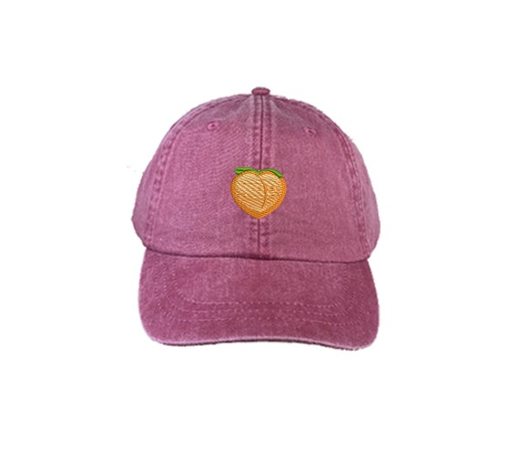 Peach Emoji Washed Dad Hat, Peach Emoji Cap, Peach Emoji Hat, Dad Hat Tumblr, Peach Butt Hat, Dad Hats, Peach Butt, Peach Emoji Cap