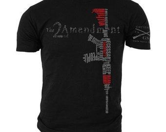 2nd Amendment-Grunt Style graphic t-shirt