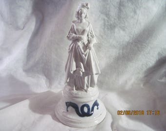 Antique Statue/Lamp Accessory  Feat. MARIE  ANTOINETTE  Porcelain Image