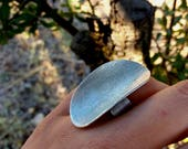 Silver Ring, Chunky Silve...