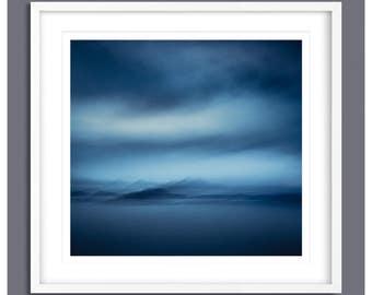 Blue Canvas Wall Art, Extra Large Wall Art, Canvas large, Blue, Large Print, modern blue print, home decor wall art, wall art livingroom