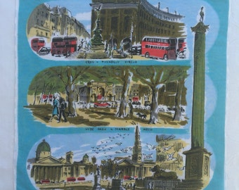 Vintage England UK Handkerchief 1415