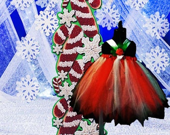 Jingle Bell Holiday Tutu