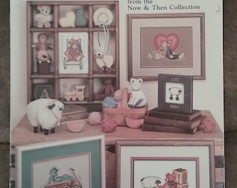 Toys Now And Then Cross Stitch Leaflet