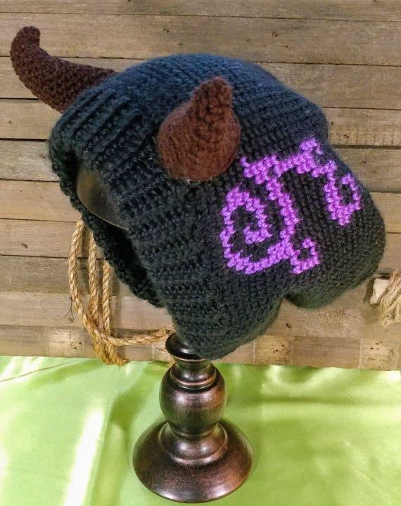 Crochet Pattern Demon Hunter Slouch Hat