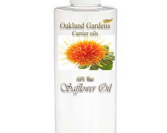 Safflower Oil - CARRIER OIL 100% Pure For Diluting Essential Oil - SOOTHES - high in linoleic acid