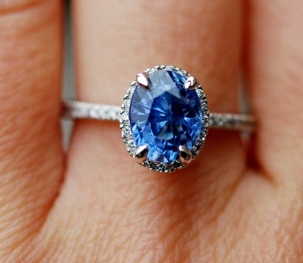 deco rings at blue id sale j cornflower sapphire diamond platinum ring engagement jewelry natural art img for