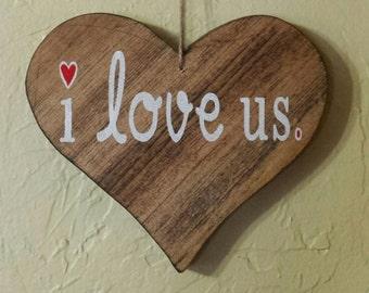 Valentine's Day, Valentine Gift, I Love Us, Romantic Gift, Girlfriend Gift, Boyfriend Gift, Wife Gift, Husband Gift, Valentine Gift Ideas