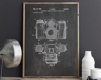 Camera Art Poster, Camera Wall Poster, Vintage Camera Decor, Camera Patent Poster, Retro Camera Decor,Antique Camera Decor, INSTANT DOWNLOAD