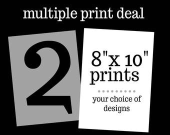 """Two 8"""" x 10"""" Print Deal"""