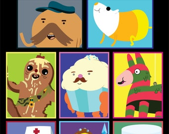 Candy People of Adventure Time Sticker 10 pk