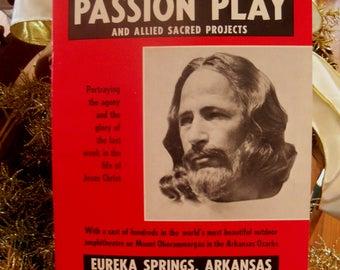 The Great Passion Play Souvenir Program Eureka Springs Arkansas