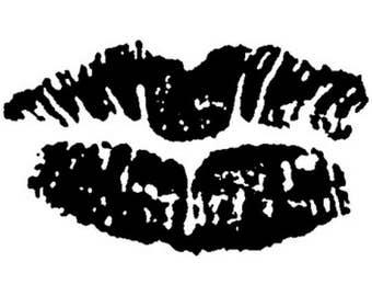 Smooch Art Stamp