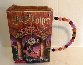 Harry Potter Book Purse Handbag~Sorcerer's Stone Book Cover~Harry Potter Gift
