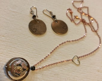 TNWBF - New Hope - Love necklace and earring set
