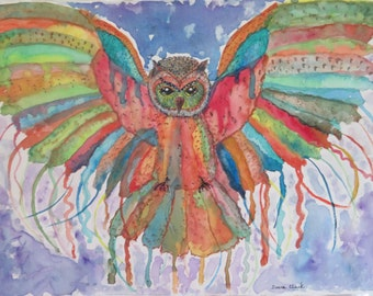 Magnificent Owl