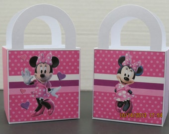 Minnie's Bowtique Favor/Treat/Gift Bags (set of 8)