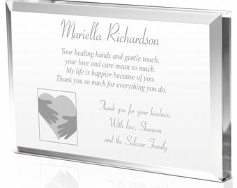 Engraved Thank You Plaque