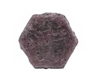 Ruby authentic gemstone crystal, Genuine Raw Red Gem stone Crystal, Mineral Corundum, July Birthstone, Wear it or Display it