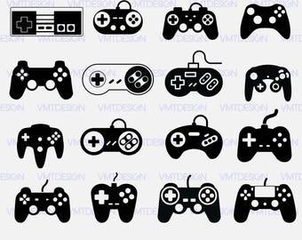 Game Controller svg - Game Controller vector - Game Controller digital clipart for Design or more, Files download eps, png, dxf, svg