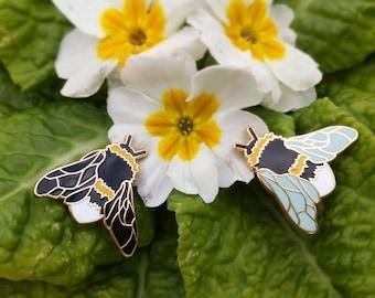 Bumblebee Hard Enamel Pin | Bee Pin | Bumble Bee Pin Badge