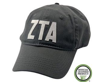 Zeta Tau Alpha - Felt Letter Hat