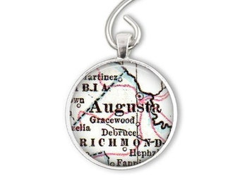 Augusta golf gift for men, Augusta Georgia golf gifts for him, Augusta Ornaments,or as Augusta bottle opener keychain, Augusta keychain gift