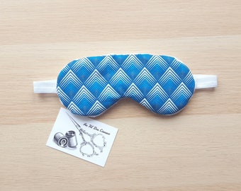 Sleeping mask / / sleep mask / / sleep accessory / / sleep - blue shades accessory