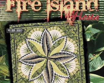 Fire Island Hosta Paper Piecing Quilt Pattern