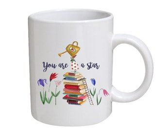 Can be Personalised 'You are a star' Mug - great gift for graduation, exam results, student, anyone really!