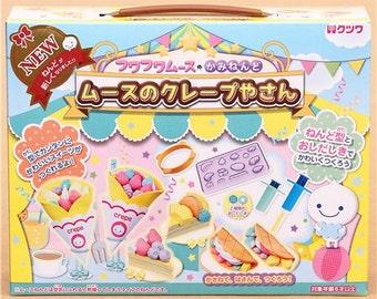 188260 DIY paper mousse clay crepes cake fruit kit Japan