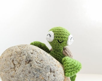 Turtle Crochet Toy