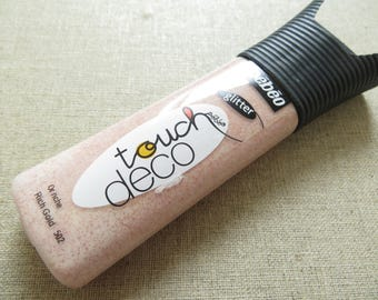 tube touch pebeo deco gold rich glitter 502