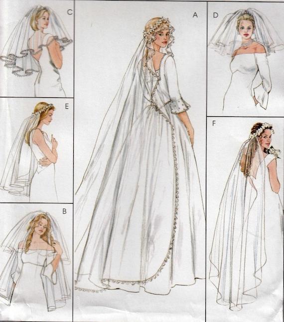 Bridal Veil Sewing Pattern, Bridal Sewing Pattern, Wedding Veil ...