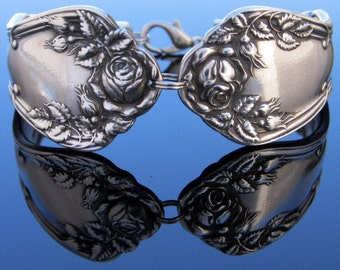 Silverware Bracelet Rosemary Pattern