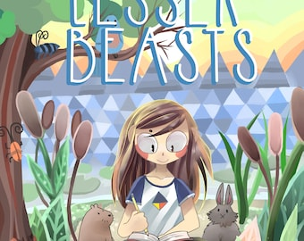 Lesser Beasts Graphic Novel Download - Watercolor Graphic Novel