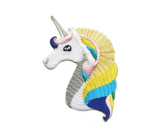 Unicorn Patches Applique Embroidered Iron on Patch