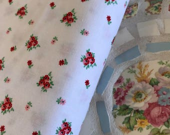 A little  Sweetness - Vintage White Fabric