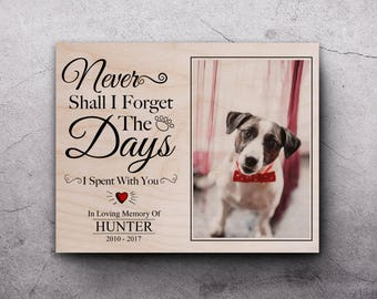 Dog Memorial Photo, Dog Memorial Frame, Pet Sympathy Gift, Pet Memorial Gifts, Dog Loss Frame, Pet Remembrance, Pet Loss, In Memory Of Dog