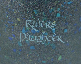 """River's Daughter holographic nail polish 15 mL (.5 oz) from the """"Ladies of Middle-Earth"""" Collection"""