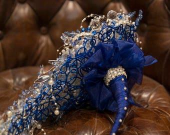 Large, Teardrop, Wedding Bouquet