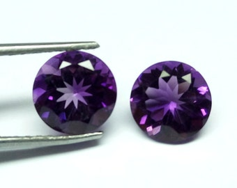 Awesome Quality Amethyst 8mm Round / 8mm Round Amethyst