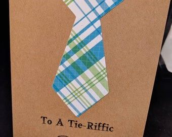 Father's Day A Tie-riffic Dad