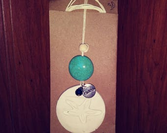 Essential Oil Diffuser Necklace - Essential Oil - Diffuser - Pendant - Necklace - Clay