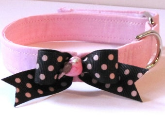 Sparkling Pink Petite Alouette Pet Collar