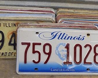 Set of 50 License Plates Lot Vintage Automobile Car Truck Tags im,  Vintage License Plates, Vintage Car Tags, Truck Tags, License Plate Art